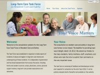 Long Term Task Force on Resident Care and Safety