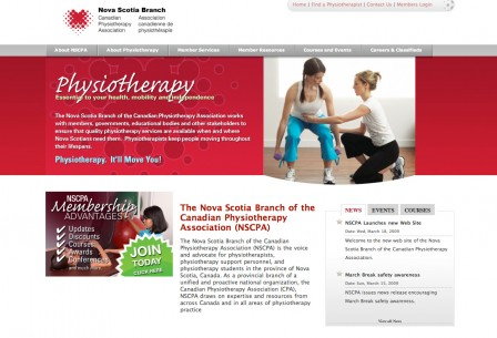 {Nova Scotia Branch of Canadian Physiotherapy Association}