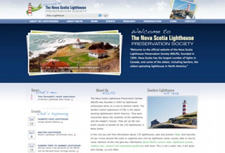 {Nova Scotia Lighthouse Preservation Society}