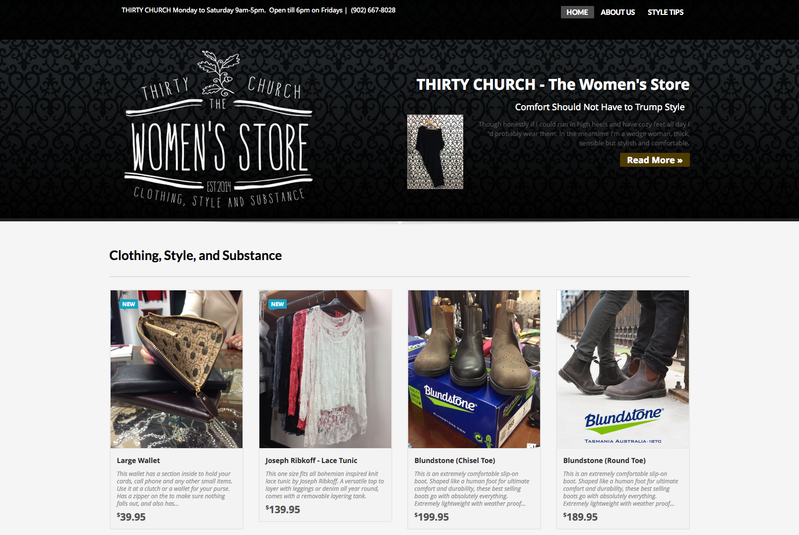 Thirty Church - The Women's Store