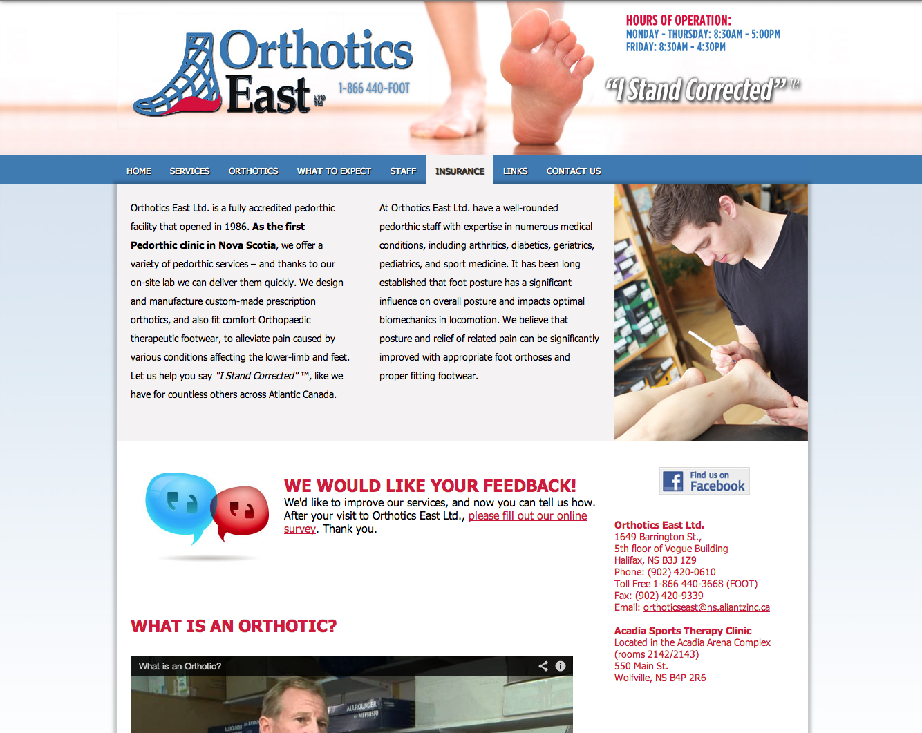 Orthotics East Ltd