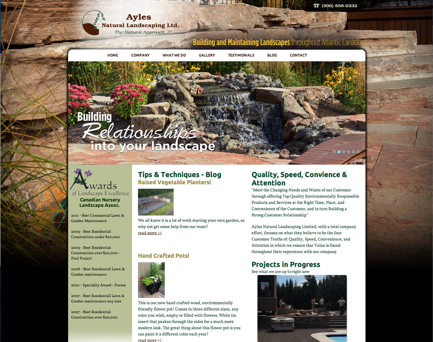 Ayles Natural Landscaping
