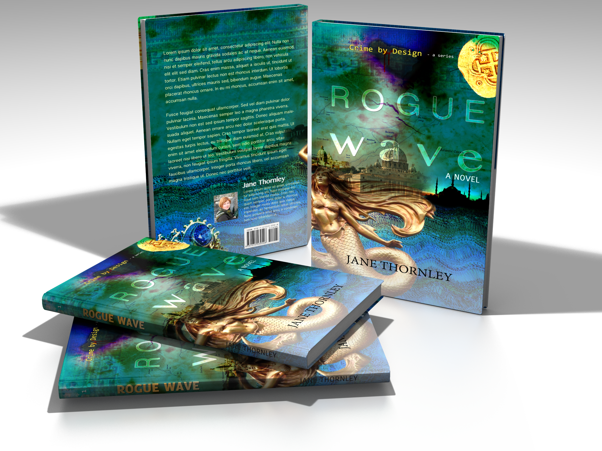 Rogue Wave Book Cover Design