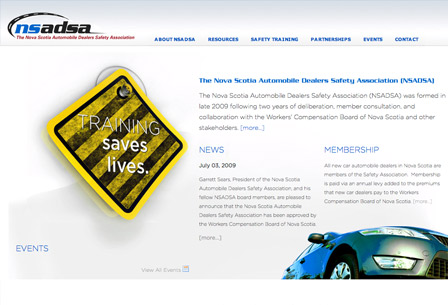 The Nova Scotia Automobile Dealers Safety Association