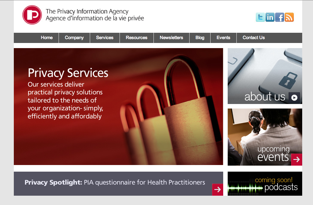 Privacy Information Agency Inc.