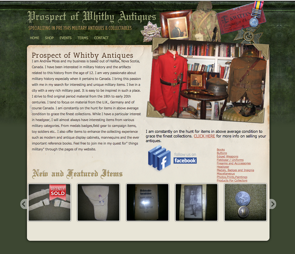 Prospect of Whitby Antiques