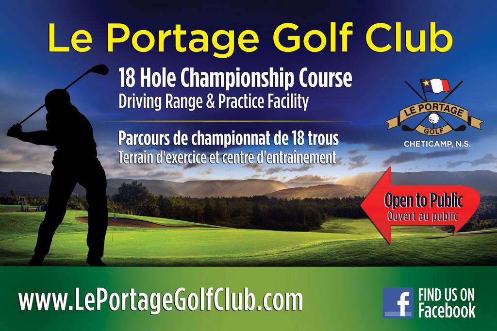 Le Portage Golf Club Signage
