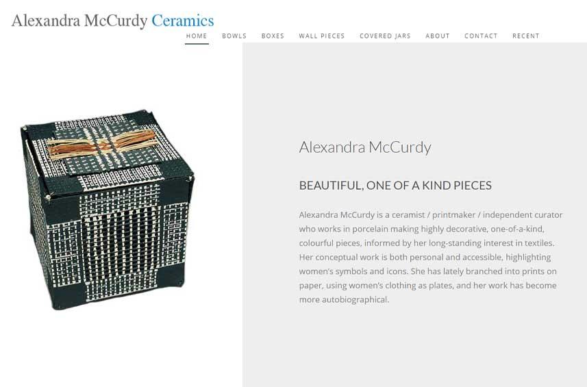 Alexandra McCurdy Ceramics