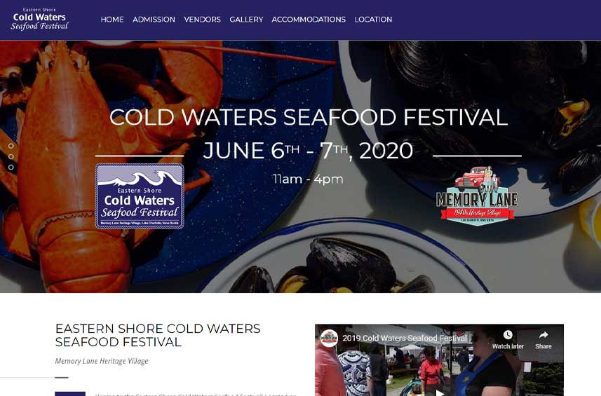 Cold Waters Seafood Festival
