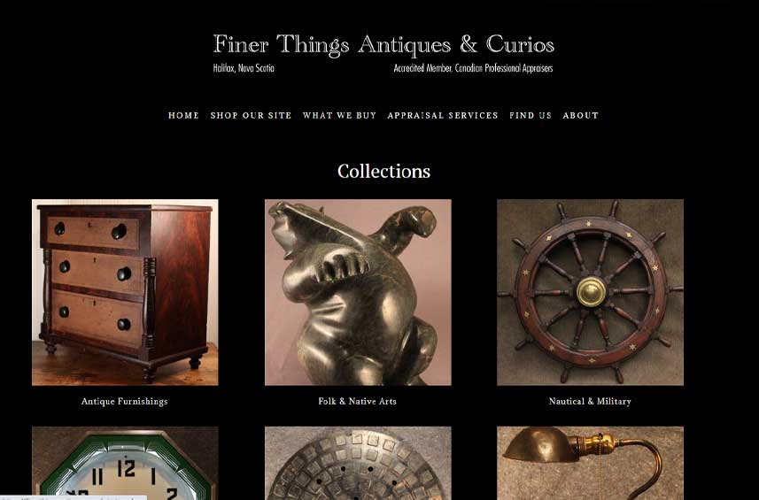 Finer Things Antiques - Halifax NS