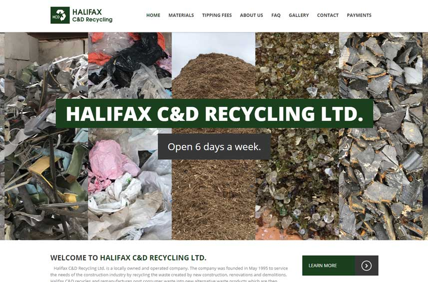 Halifax C&D Recycling