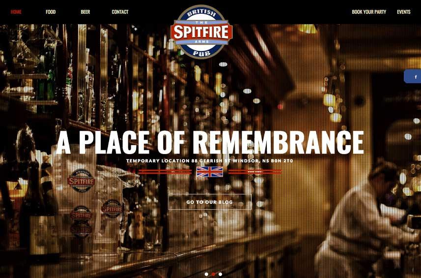 Spitfire Arms Pub
